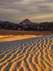 Sun-lit Dune Ridge (Jeff Sullivan (www.JeffSullivanPhotography.com)) Tags: death sand dunes national valley california park travel usa nature night canon landscape photography eos nationalpark sierra eastern geminid copyright jeff photo december mark 5d sullivan iv 2018