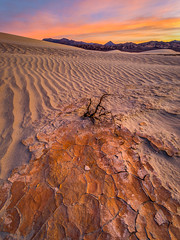 Red Clay at Sunrise (Jeff Sullivan (www.JeffSullivanPhotography.com)) Tags: sand dunes death valley national park geminid nationalpark california usa eastern sierra landscape nature travel night photography canon eos 5d mark iv photo copyright 2018 jeff sullivan december