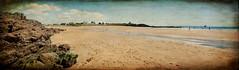 La plage de Bellangenêt (.Sophie C.) Tags: cloharscarnoët lepouldu 29 finistère bretagne breizh plage côte littoral mer panorama panoramique assemblage photomerge pse15 photoshopelements15 texture lenabem plagedebellangenêt