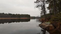 Mirror (varmfront.se) Tags: lake mirror autumn fall forest countryside roslagen sweden