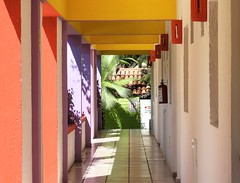 Corridor (knightbefore_99) Tags: mexico mexican rincon guayabitos nayarit cool decameron west coast awesome art best hotel corridor view long shade sol sun sunny