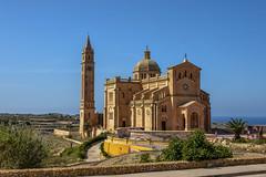 Malta -88 (coopertje) Tags: europe europa malta republic culture vacation island mediterranean mediterrane middellandsezee church architecture unesco world heritage site gozo ta pinu basilica