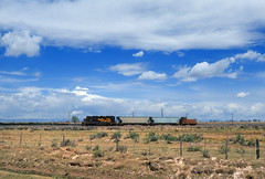 Antonito bound (Moffat Road) Tags: riogrande denverriograndewestern drgw localfreight gp402 emd sanluisvalley alamosa antonito estrella colorado train railroad locomotive local co 3103
