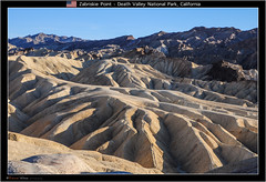 Zabriskie Point ( Eduard Wichner) Tags: deathvalleynationalpark deathvalley california nevada badwaterbasin zabriskiepoint zabriskie desert mojavedesert greatbasindesert lowestelevationinnorthamerica lowestelevation hottestplacesintheworld