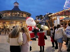 santa candid (auroradawn61) Tags: christmas christmassy bournemouth dorset uk england november 2019 lumixgx80 street candid santa