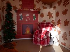 Christmas beach hut (auroradawn61) Tags: christmas christmassy bournemouth dorset uk england november 2019 lumixgx80 beachhut