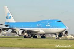 KL686 KLM Boeing 747 (PH-BFI) from Mexico City arriving at Schiphol Amsterdam (PictureJohn64) Tags: phbfi klm boeing 747 jumbo skyteam polderbaan schiphol amsterdam picturejohn64 plane airplane aircraft vliegtuig vliegveld airport aerodrome nikon d5100 sigma 150500mm flugzeug flughafen pax passenger eham