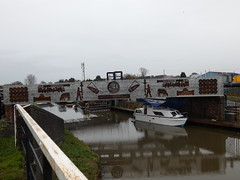 Brine Bridge (Thomas Kelly 48) Tags: panasonic lumix fz82 cheshirering cheshire boats bridge canalboats canal trentandmerseycanal brine saltworks salt