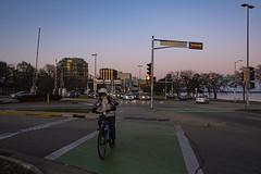 327/365 (local paparazzi (isthmusportrait.com)) Tags: 365project fujixpro2 xpro2 lopaps pod 2019 redskyrocketman localpaparazzi isthmusportrait madisonwisconsinphotographer city madisonwi danecountywisconsin fujixf18mmf2 downtown downtownmadison bike bikeride safety crosswalk street fixed prime aperture details iso1600 noise grain lowlight sundown bikelights uselights f2 f28 28 biking dangerous safetyfirst