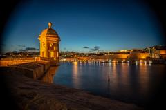 Malta -82 (coopertje) Tags: europe europa malta republic culture vacation island mediterranean mediterrane middellandsezee evening night architecture unesco world heritage site gozo senglea valetta