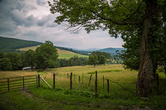 The Old Homestead (Brad Prudhon) Tags: 2019 farmland july places rural westvirginia fence