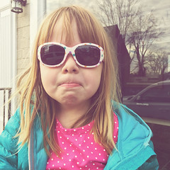 Now With Norah (matthewkaz) Tags: norah daughter child sunglasses glasses reflections envelopes window middleburg virginia 2019