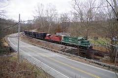 y&s 2 050 (Fan-T) Tags: ys2 ys youngstown southern southeastern railroad ibcx gp16 1706 222emd geep shortline