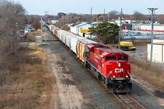 CP 7003 (shawn_christie1970) Tags: crystal minnesota unitedstatesofamerica diamond cp298 cp29822 cp7003 emd sd70acu train railroad canadianpacificrailway cp cpr rebuilt cppaynesvillesub