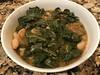 Braised collard greens, cherry tomatoes, cannelini beans (TomChatt) Tags: food homecooking parttimevegetarian