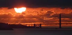 sunset 28nov2019 2/2 (Jef Poskanzer) Tags: sunset goldengate goldengatebridge geotagged geo:lat=3789236 geo:lon=12227327 t