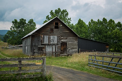 Open Gate (Brad Prudhon) Tags: 2019 farm july old places rural westvirginia barn country wooden