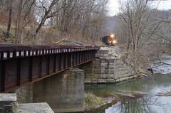 y&s 166 (Fan-T) Tags: ys 222 gp18 youngstown southern southeastern emd shortline bridge icg 9368