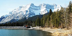 Banff National Parkway (Mr. Happy Face - Peace :)) Tags: international banff park snowcaps albertabound canada nature hiking scenic landscape art2019