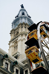 City Hall, Philadelphia (Garen M.) Tags: cityhall ferriswheel holidays nikonz6 philadelphia street