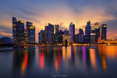 Singapore Skyline (rajaramki) Tags: singapore skyline cityscape asia