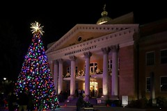 Enjoying the holiday festivities in Hendersonville, NC (McMannis Photographic) Tags: worldtrekker christmastree christmaslights hendersonvillenc optoutside