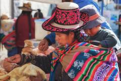 Chivay market (marko.erman) Tags: peru chivay colca valley latinamerica southamerica market streetview woman children tradition traditional travel sony