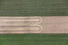Turning Marks (Aerial Photography) Tags: by mfr rh 12102019 5sr67661 abenberg ackerbau bauernmalerei bavaria bayern bogen braun deutschland erde farbe feld fotoklausleidorfwwwleidorfde germany grafik grün landscapeandnature landschaft landschaftnatur landwirtschaft linien luftaufnahme luftbild reihen spuren abstract abstrakt aerial agriculture brown color colour curve earth farmerspainting field graphicart graphics green landscape landscapenature lines nature outdoor rows soil traces tracks trails verde abenberglkrroth bayernbavaria deutschlandgermany