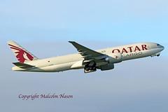 B777 A7-BFH QATAR AIRWAYS (shanairpic) Tags: jetairliner freighter b777 boeing777 shannon starairways a7bfh