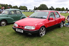 Ford Sierra Sapphire 2.0 GLS G173DPH (Andrew 2.8i) Tags: festival unexceptional buckinghamshire middle claydon meet show coche voitures voiture autos auto cars euro european fordofeurope sedan saloon 2000gls 20gls 2000 gls 20 sapphire sierra ford g173dph