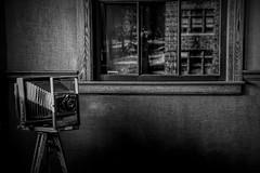 Henry Ford's Office at the  Ford Piquette Plant, Detroit Michigan (lleon1126) Tags: fordmotorplant fordvehicles henryford piquetavecarmuseum antiques cars vintagecars camera vintagecamera window detroit henryfordoffice friendlychallenges diamondsaward