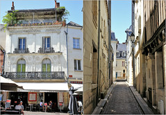 Dans les rues du vieux Tours, Indre-et-Loire, France (claude lina) Tags: claudelina france indreetloire tours maisons houses architecture