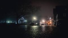 Cobble (Christoph Wenzel) Tags: nacht tamron2875mmf28diiiirxd nebel sonyalpha7riii regen thüringen reflektion neuhausamrennweg licht dunkelheit herbst deutschland