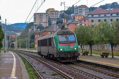 E436 343 Captrain (Maurizio Boi) Tags: treno train zug rail railway railroad ferrovia eisenbahn locomotiva locomotive italy 436 captrain lis e436