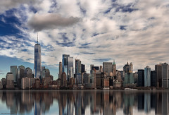 NYC skyline (ricardocarmonafdez) Tags: nyc newyork manhattan skyline cityscape buildings architecture arquitectura rascacielos skyscrapers cielo sky nubes clouds sunligh shadows reflejos reflections edition imagination effect processing nikon d850 24120f4gvr ricardocarmonafdez ricardojcf details color