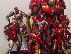 Iron Man (becauseBATMAN) Tags: hot toys hottoys 16 one sixth 1 6 ironman man iron marvel avengers armor mark hall figure collectible collection toy action hulkbuster hulk buster gold red 42 vi v 5 46 concept art xlv xlvi 43 ultron civil war