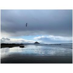 (tahitihut) Tags: california beach reflections stormclouds morrobaymorrorock seascape