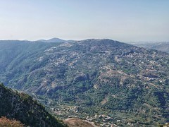View on the Lebanon Mountain Trail near Jezzine.