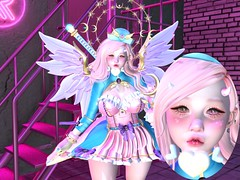 I'll Bring the Fluff~ (CandyCottonDreams) Tags: sl secondlife cute kawaii fluff fantasy wings demon heart oni genus babyface maitreya olive s0ng cakeinc luas momochuu nyaru sweetthing magicalgirl magic monster blog lotd