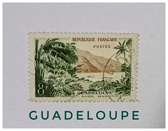 Francaise (sitimaryam) Tags: stamps guadeloupe france vintage collection