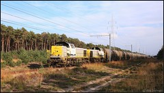 NMBS SNCB 7775-7777-Zinkertstrein Lommel 30102019 (W. Daelmans) Tags: nmbs sncb hld 77 78 7775 7777 zinkertstrein lommel diesel