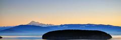 2012-02-05 Sunrise Panorama (3072x1024) (-jon) Tags: anacortes skagitcounty skagit washingtonstate washington salishsea fidalgoisland sanjuanislands pugetsound fidagobay padillabay volcano sky clouds red mtbaker mountbaker twinsistersmountain cascades mountain pnw pacificnorthwest northwest pacific ocean sunrise sun water cloud d90archives pano panorama panoramic a266122photographyproduction hatisland fidalgobay cascademountains northcascademountains island bay foothills snow glaciers northcascades