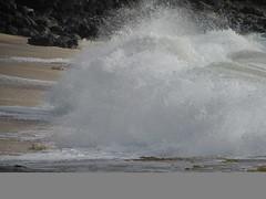 Shorebreaker (thomasgorman1) Tags: crash crashing shorebreaker oahu canon hawaii beach surf makaha shore travel wave waves pacific ocean sand