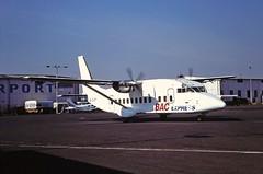 G-OJSY Short 360 BAC Express Coventry 21-08-1995 (cvtperson) Tags: gojsy short 360 bac express coventry cvt egbe