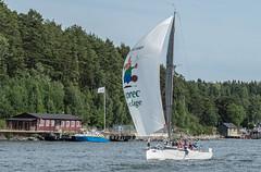 KSSS ÅF Offshore Race (Gotland Runt) 2016, Oxdjupet (Gösta Knochenhauer) Tags: 2016 july panasonic lumix fz1000 dmcfz1000 vaxholm rindö stockholm sverige sweden schweden svezia suecia suède boat sailboat sailing archipelago skärgård ksss åf offshore race nik ksssåfoffshorerace gotlandrunt oxdjupet p9050928nik p9050928 leica lens