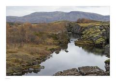 Iceland 2019 (Michael Fleischer) Tags: iceland autumn landscape nature sky cloud water rock mountain nikon d810 nikkor 70200mm f40 vr þingvellir