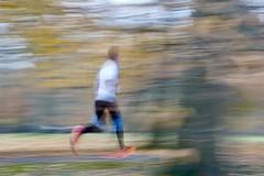Warp Speed! (Tanya - Hibernating for the winter!!) Tags: park runner icm smileonsaturday motionblur