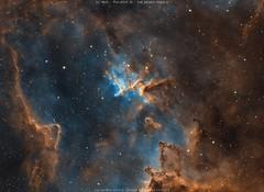 Melotte 15 - IC1805 - The Heart Nebula (Salvatore Cozza) Tags: astrometrydotnet:id=nova3773434 astrometrydotnet:status=solved