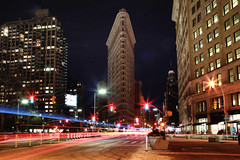 Madison Square (erichudson78) Tags: usa nyc newyorkcity manhattan madisonsquare flatironbuilding building longexposure poselongue smileonsaturday motionblur canonef24105mmf4lisusm canoneos6d nuit night urbanlandscape paysageurbain