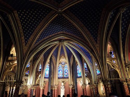 Paris - Sante Chapelle.